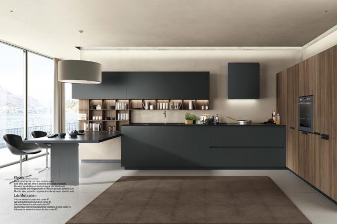 мебель для кухни Италия - фабрика Euromobil